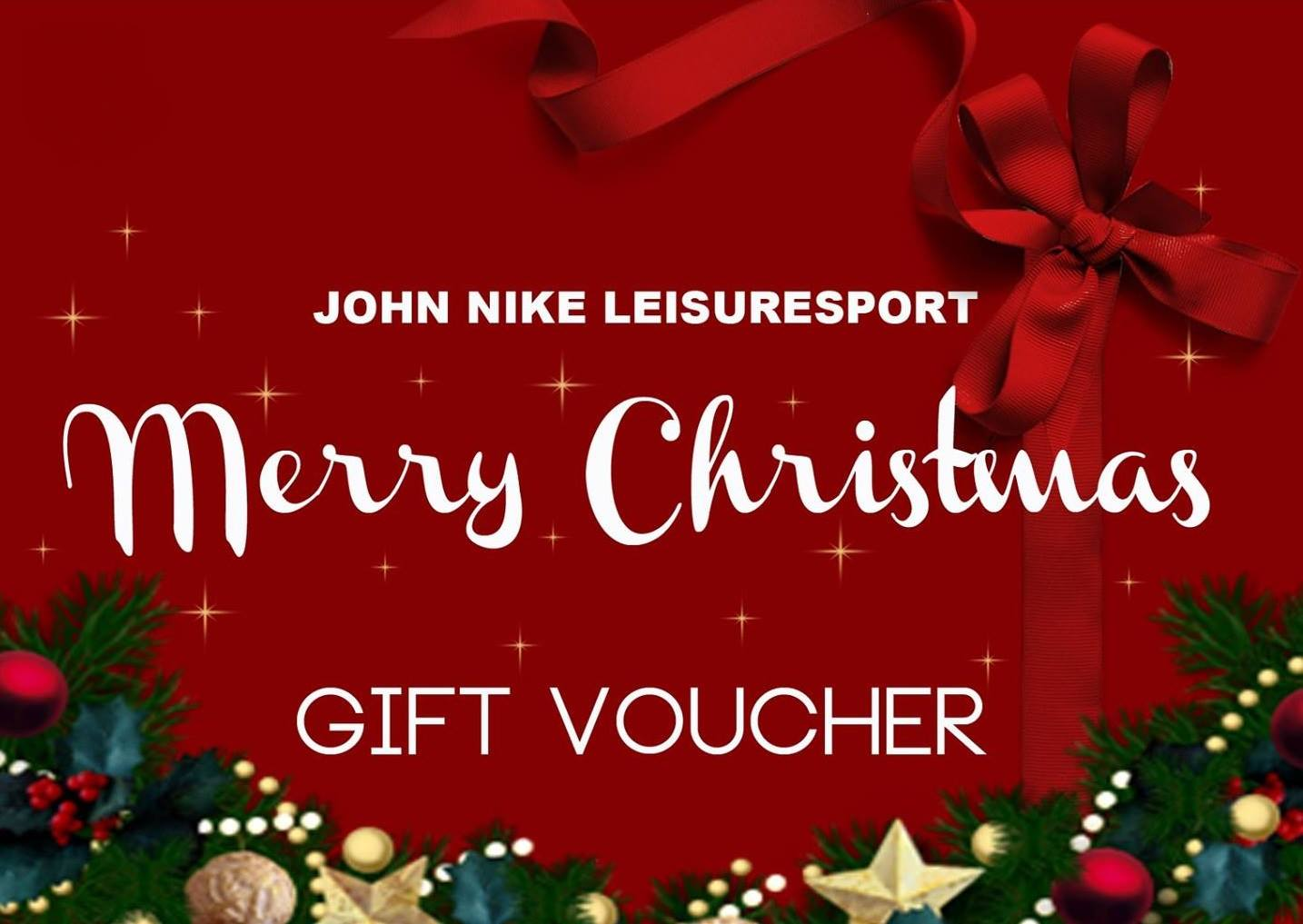 Merry Christmas! Offer a Gift Voucher!